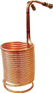 NY Brew Supply AZ-W1250-CG Copper wort chiller, 1/2