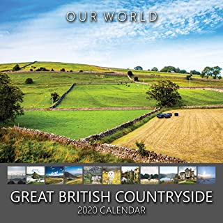 Our World: Great British Countryside 2020 Iconic British Countryside Nature Scenery Wall Calendar