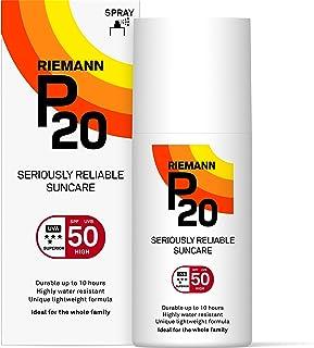 Riemann P20 Una Vez al Día 10 Horas protección SPF50 Plus Protector solar 200ml