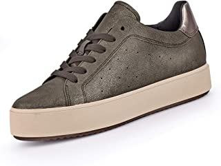 GEOX D Blomiee H Womens Fashion Sneakers Lace-Up Shoes