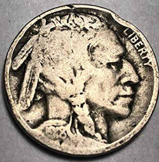 1918 P Buffalo Nickel AG