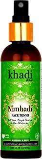 Nimbadi By Khadi Global Anti Acne Pimple Control & Pore Minimizer Face Toner 100% Authentic Ayurvedic Formula With 5 Type of Tulsi, Neem, Witch Hazel, Best Anti Acne Face Toner Best Natural Face Toner