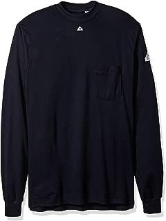 Bulwark Men's Long Sleeve Tagless T-Shirt-Excel Fr