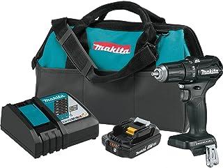 "Makita XFD11R1B 18V LXT Lithium-Ion Sub-Compact Brushless Cordless 1/2"" Driver-Drill Kit (2.0Ah)"