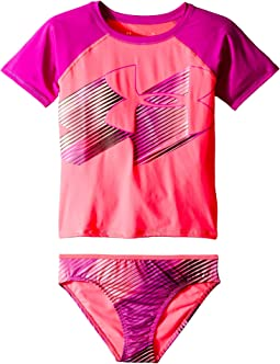 Jetset Big Logo Rashguard Set (Big Kids)