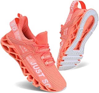 Women's Running Shoes Non Slip Athletic Tennis Walking Blade Type Sneakers