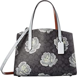 Charlie 28 Carryall in Coated Canvas Signature