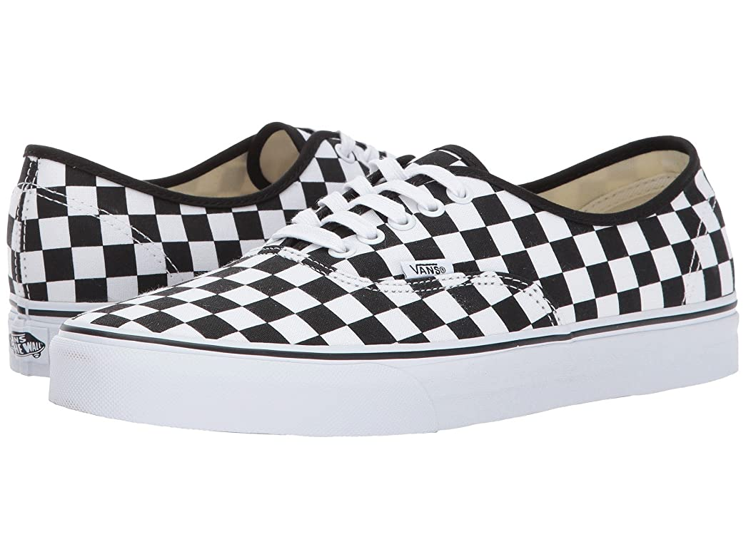 ハーフ冷凍庫環境(バンズ) VANS メンズスニーカー?靴 Authentic (Checkerboard) Black/True White Men's 13, Women's 14.5 (31cm(レディース31.5cm)) Medium