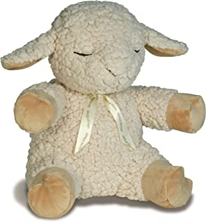 Cloud B Sleep Sheep Plush Sound Machine with Four Soothing Sounds, Natural