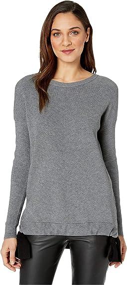 Fuzzy Viscose Blend Sweatshirt KS1K5930