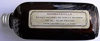 Extracto de vainilla natural Bourbon de Madagascar x 100 ml