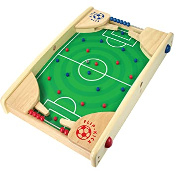 4 Players /& Hammers Tabletop Soccer Competitive Pounding fun for 3 Tablet Football Board Game Toy aged preschoolers LITTLE TREASURES B01D8N9TUM