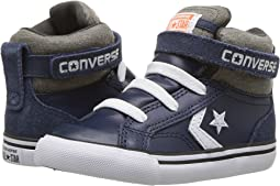 Converse Kids - Pro Blaze Strap Leather and Suede - Hi (Infant/Toddler)