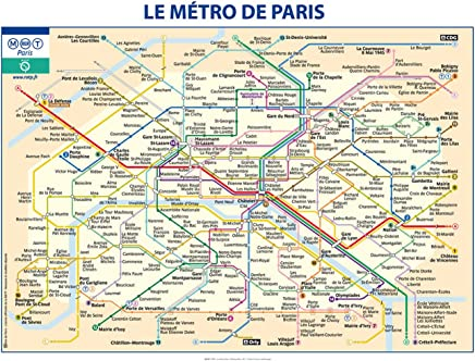 Paris. Le mini-plan pratique - Blay-Foldex