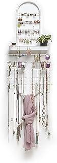 Umbra Valerina Over-The-Door Jewelry Organizer, White