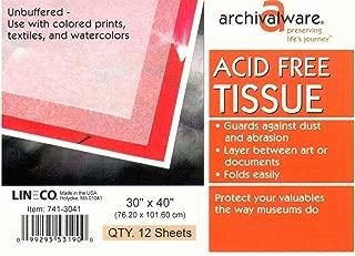 LINECO - Unbuffered Acid-Free Tissue Paper, 30x40