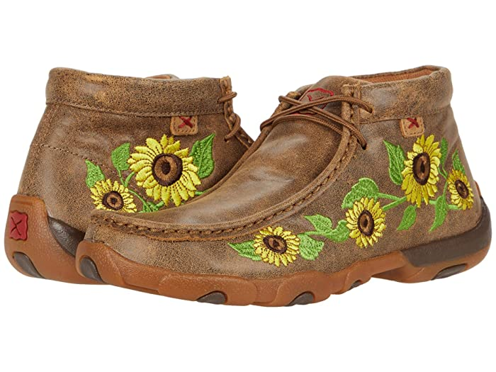 Twisted X  WDM0128 (Bomber/Sunflower) Womens Shoes