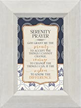 God Grant Me the Serenity Courage Wisdom 4.5 x 6 Inch Framed Easel Back Sign Plaque