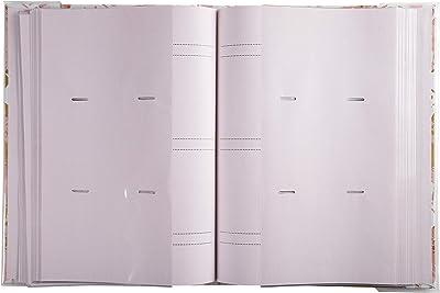 Exacompta - Réf. 62223E - Album photos à pochettes PASTEL TROPIC - 300 photos 10x15 cm - 100 pages - Format 22,5x32,5 cm - albums imprimés avec un marquage rosé sur la couverture