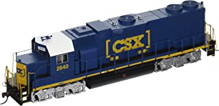 Bachmann Industries EMD GP38 2 DCC CSX #2640 Sound Value Equipped Locomotive (HO Scale)
