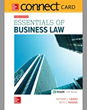 Connect Access Card for Essentials of Business Law