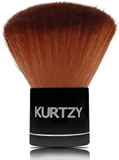 Kabuki Brush - 7cm Powder Brush with Natural and Synthetic