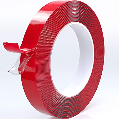 2019 Upgraded New Super Strong Double Sided Tape Acrylic Waterproof Removable Residue-Free Strong Mounting Tape for-W...