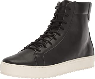 TCG Men Shoe Logan All Leather High Top Lace Up Sneaker Boot