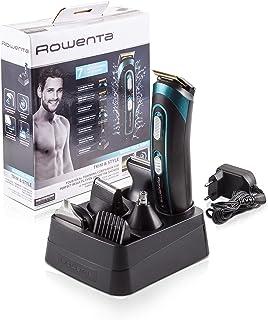 Rowenta TN9130 Trim & Style - Cortapelos para barba y cuerpo 7 en 1 accesorios de afeitado nariz oreja patillas recor...