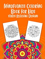 Mindfulness Coloring Book Worksheets, Draw Stress Relieving Designs