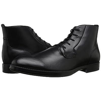 Calvin Klein Harding (Black Leather) Men