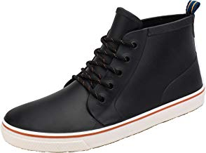 AgeeMi Shoes Botas Agua Zapatos Planos Cordones Hombre Zapatillas Unisex Botas