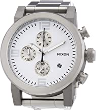 Nixon Men's Quartz Watch Ride SS A347100-00 with Metal Strap