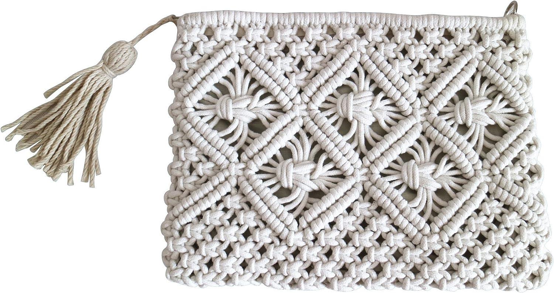 Women's Large Straw Tote & rope net beach bag