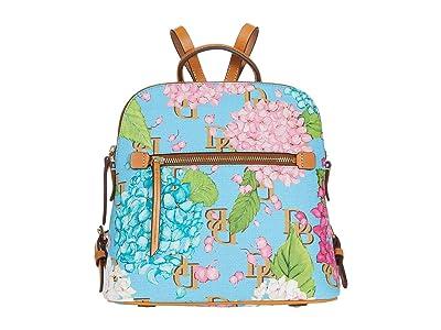 Dooney & Bourke Hydrangea Monogram Backpack