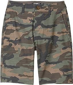 Locked Slub Shorts (Big Kids)
