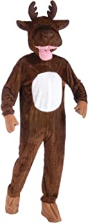 Men's Moose Mascot Costume