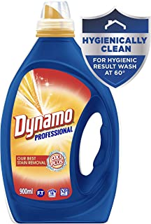 Dynamo Professional Oxi Plus is Our Best Stain Removal Liquid Laundry Detergent, 900ml, 18 Washloads
