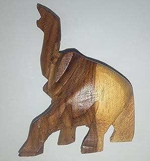 شكل فيل خشب ديكور