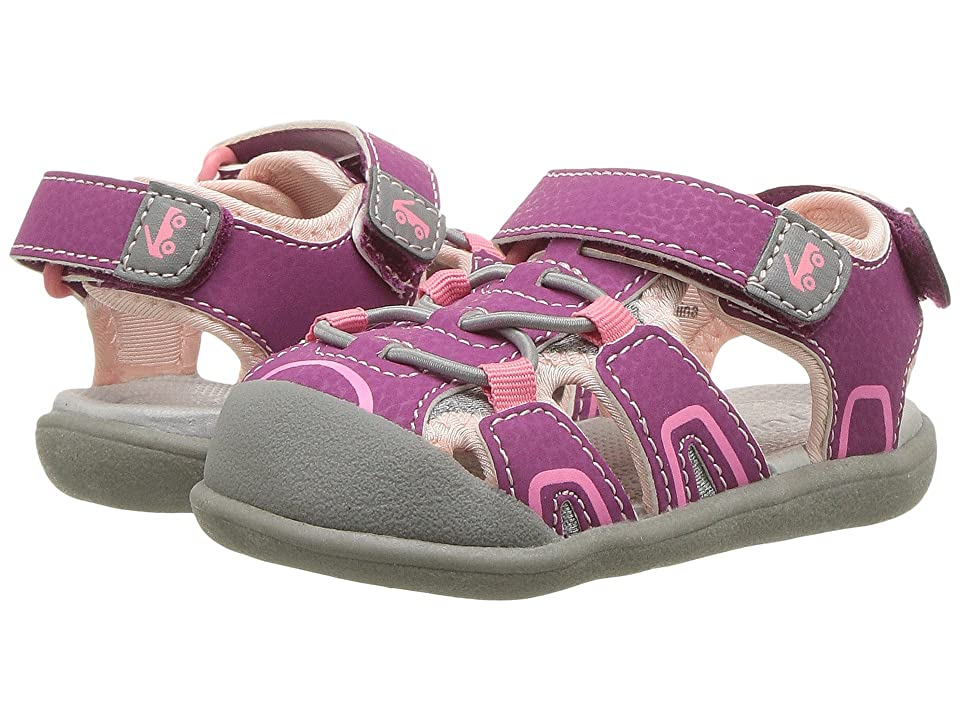 See Kai Run Kids Lincoln III (Toddler) (Magenta) Girl