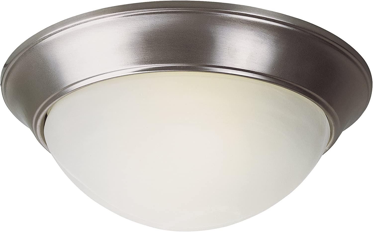 Trans Globe Imports LED-57702 BN LED Out OFFer Flushmount Transitional Max 51% OFF