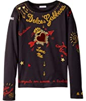 Dolce & Gabbana Kids - City Embroidered T-Shirt (Big Kids)