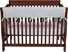 Trend Lab Waterproof CribWrap Rail Cover - for Wide Long Crib Rails Made to Fit Rails up to 18