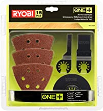 Ryobi RAK15MT 5132002809 Kit d'outils multifonctions en bois pour outils multifonctions RMT1801M avec lames de scie plonge...
