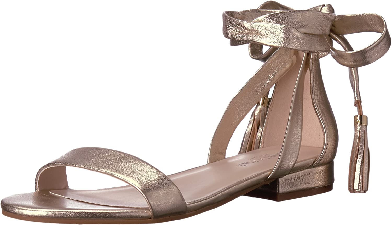 Kenneth Cole New York Womens Valen Flat Sandal