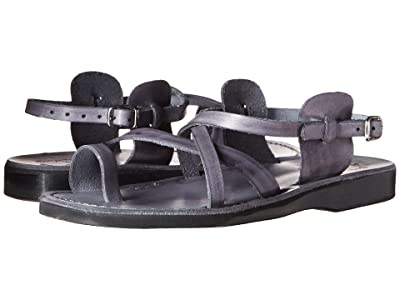 Jerusalem Sandals The Good Shepherd Buckle Mens (Gray) Men