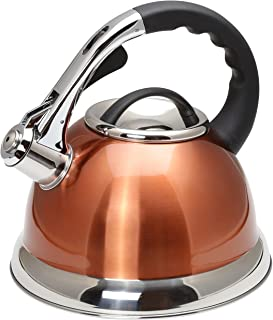 copper pot with brass handle