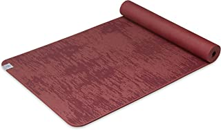 Gaiam Yoga Mat - 6mm Insta-Grip Extra Thick & Dense Textured Non Slip Exercise Mat for All Types of Yoga & Floor Workouts,...