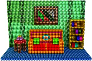 House Interior Magnet World - Magnetic Balls Games