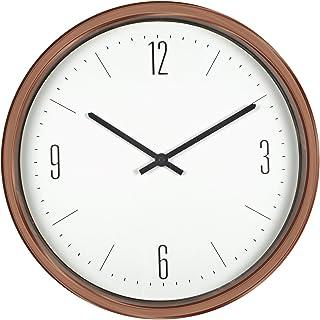 Poolmaster 52542 16-Inch Indoor or Outdoor Contemporary Clock, Bronze